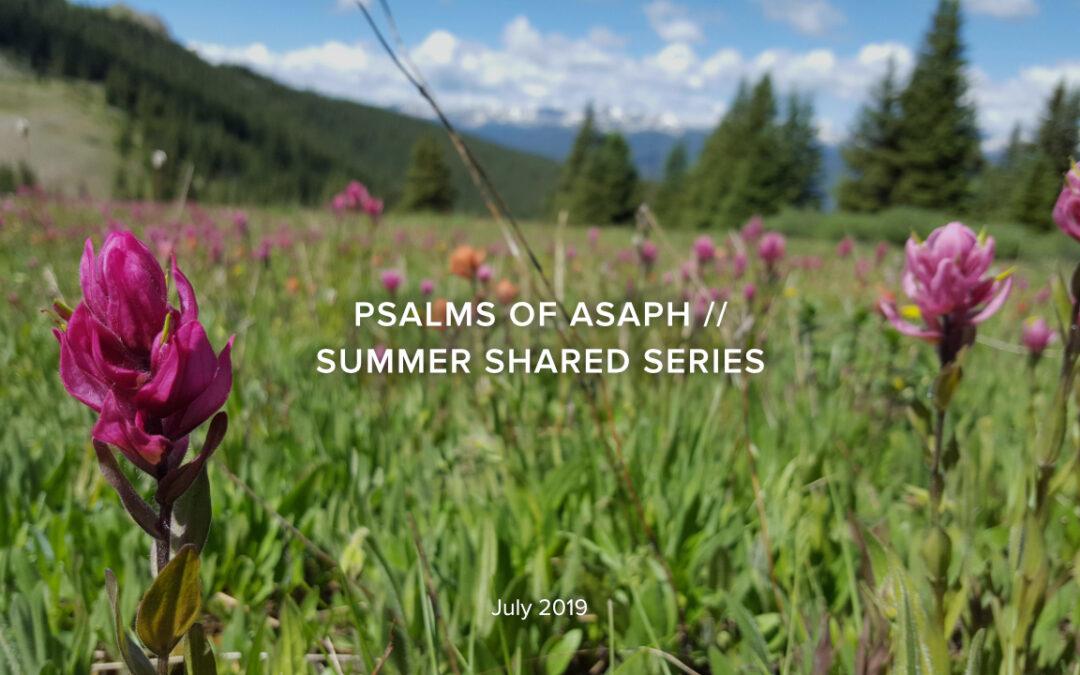 Psalms of Asaph, Part 4 – Psalm 78